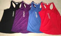 New UNDER ARMOUR UA Streaker Women's Running Tank Top 1271522 Fitted HeatGear