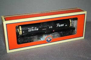 Lionel #6-29632, White Pass Tank Car , MOB!