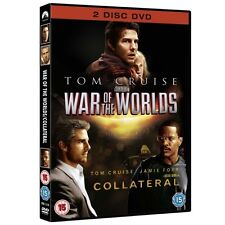 Collateral / War Of The Worlds Box Set DVD - Brand New!