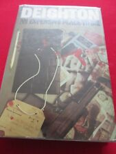 LEN DEIGHTON - AN EXPENSIVE PLACE TO DIE - 1967 1ST JONATHAN CAPE HB BOOK