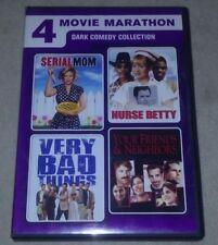 4 Movie Marathon: Dark Comedy Collection DVD *HORROR