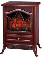 Comfort Glow Ashton Portable Electric Fireplace Stove Heater 2 Colors