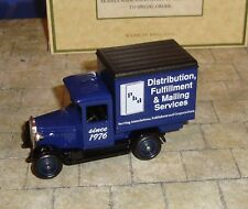 LLEDO - PROMOTIONAL - 1928 CHEVROLET BOX VAN - PBD DISTRIBUTION - BOXED