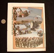 1998 US Army Winds Aloft Reno Reunion MAG 511th Parachute Infantry Regiment Assc