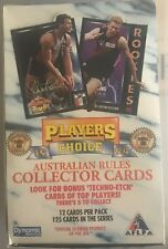 1994 AFL Players Choice trading cards (sealed box)