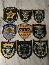 Vintage Collectible Lot Of Florida Police And Sheriff Patches