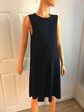 Black Sleeveless Knee Length Stretchy Maternity Dress By ASOS Size UK12 EU40 NWT