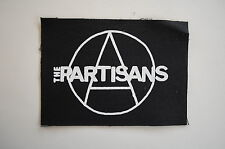 "Partisans Cloth Patch Sew On Badge Adicts Punk Rock Music Approx. 5""X3.5"" (CP31)"