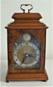 VINTAGE ELLIOTT MANTLE CLOCK RETAILED BY MALLORY BATH