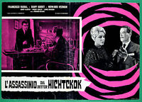 T22 FOTOBUSTA L'ASSASSINATION OF DOTTOR HICHCKOK FRANCISCO RABAL RICHARD BLASCK