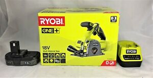 Ryobi One+ 18v Multi Material Saw , R18MMS-0 + Battery + Charger
