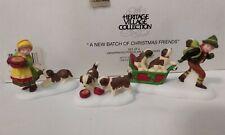 Dept 56 Alpine Village 1997 A New Batch Of Christmas Friends Puppies 56175