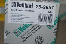VAILLANT 252957 25-2957 ELEKTRONISCHER REGLER VC 110-280 VCW 180-280 T E HYBRID