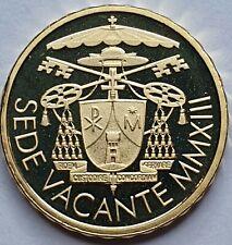 VATICAN - 10 euro OR - Sede Vacante - 2013 Officiel