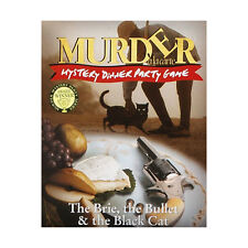 Murder a La Carte - The Brie, The Bullet & The Black Cat - Brand New Mystery