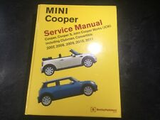 2007-2011 Mini Cooper Bentley Service Manual R55 R56 R57 Clubman Jcw Convertible