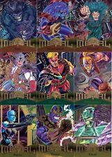 1995 marvel metal complete 138 card set (NM GREAT SET)
