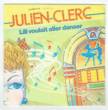 Julien CLERC Vinilo 45T SP LILI QUERIDO ALLER DANZA - BLASFEMIA - VIRGIN 104729