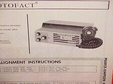 1967 PEARCE-SIMPSON CB RADIO SERVICE SHOP MANUAL MODEL DIRECTOR (REVISED)
