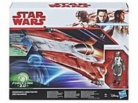 Hasbro Disney Star Wars Force Link 2.0 Resistance A-Wing Fighter Red Squadron