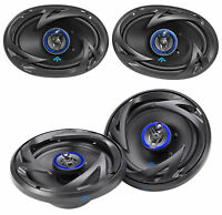 "(2) Autotek ATS693 6x9"" 800 Watt Car Speakers+(2) ATS653 6.5"" 600 Watt Speakers"