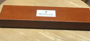 DREYFUSS & CO SWISS WATCHES Large Presentation Display Box & Watch Cushions NEW