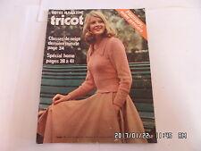 VOTRE MAGAZINE TRICOT N°167 JANVIER 1975 PRINTEMPS     K20