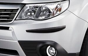 Pare choc avant pour Subaru Forester 01.2008-03.2013 avec trous pour pulvérisateurs