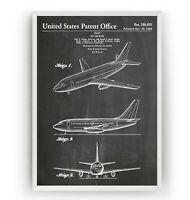 Boeing 737 MAX 8 Cockpit Poster 35/%-100/% Scale from £29.85