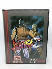 Neo Geo Aes Juegos de arte de la lucha contra el 2 (EE. UU. versión), Original Con Manual Y En Caja.