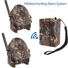 Wireless Intelligent PIR Motion Sensor Detectors+Receiver Alarm System PIR 70°