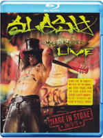 Slash Featuring Myles Kennedy - Live - Made in Stoke 24/7/11 Blu Ray Sigillato
