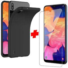 Cover Per Samsung A10 20e 30s Custodia + Pellicola Vetro Temperato Silicone 2019