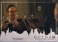 Gotham Season 2 Penguin Parallel Base Card #18 ?To friends!?