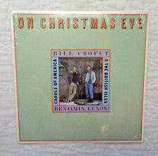 Bill Crofut And Benjamin Luxon On Christmas Eve lp, EXTREMELY RARE, FOLK, NM!