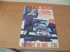 (1)  POSTER COMPETION AUTOMOBILE ANNEES 70  F2 58 X 40 CM