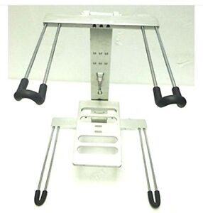LASE Aluminium FOLDING - DJ Laptop Stand & Tray (LS12)