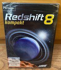 PC Planetarium-Software Redshift 8 kompakt, Neu, OVP