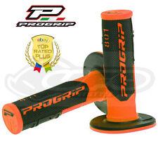 Pro Grip Progrip 801 Apretones De Flo Naranja Y Negro Motocross Media Galleta