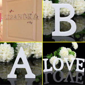 Wooden English letters for home room wedding party café restaurant door decor