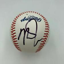 Mike Trout Signed Official Major League Baseball With Beckett COA