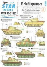 Star Decals 1/35 BEFEHLSPANZER Bef.Pzkpfw Panther Ausf.G Tanks