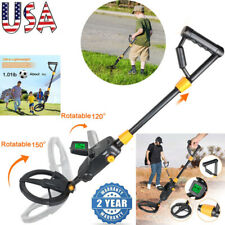 Waterproof Metal Detector Lcd Treasure Hunter Gold Digger Sensitive Search Coil
