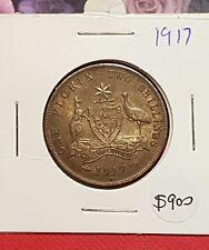 1917 australian florin coin