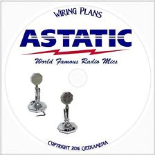 Astatic Microphone Wiring Guide DVD CB Ham Crystal Wireless Radio Amateur