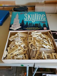 American Skyline Plastic Construction Set #92 Approximately 476 pieces