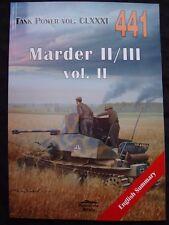 MILITARIA 441, MARDER II/III  VOL.2   BY JANUSZ LEDWOCH
