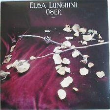 """ELSA LUNGHINI - CD SINGLE PROMO """"OSER"""" - COMME NEUF"""