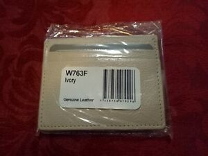Ivory small card wallet. BRAND NEW!