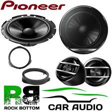 Pioneer Vauxhall Astra F/G 1990-2005 600 Watts Component Front Door Car Speakers
